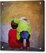 Sibling Love Acrylic Print