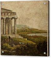 Sicilian Scenery 1823 Acrylic Print
