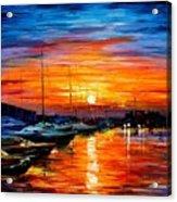 Sicily - Harbor Of Syracuse Acrylic Print