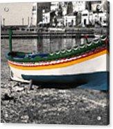 Sicily Fishing Village Acrylic Print