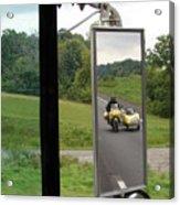 Side Car Framed Acrylic Print