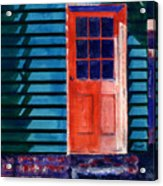 Side Door Acrylic Print