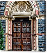 Side Entrance Acrylic Print