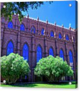 Side Of A Large Church Acrylic Print