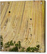 Side Of Devils Tower Acrylic Print