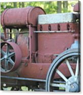 Side Of Mccormic Deering Tractor   # Acrylic Print