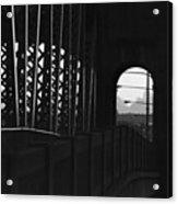Side Of The Bridge  Acrylic Print