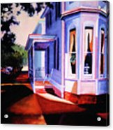 Side Street - Lambertville Acrylic Print