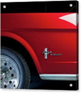 Side View Of 1964 Ford Mustang Acrylic Print
