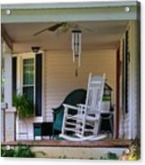 Side View Of Porch Acrylic Print