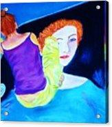 Sidewalk Artist II Acrylic Print