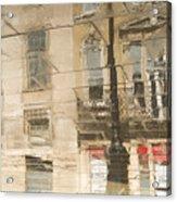 Sidewalk Reflections II Acrylic Print