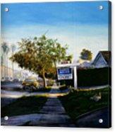 Sidewalk Sale Acrylic Print