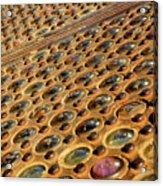 Sidewalk Vault Lights Acrylic Print
