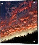 Sideways Sky Acrylic Print