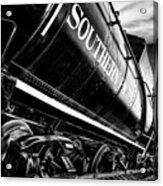 Sideways Train Acrylic Print