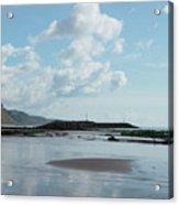 Sidmouth Beach Acrylic Print