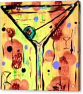 Sidzart Pop Art Martini This Is Sooo Mine Acrylic Print