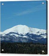 Sierra Blanca Mountain Acrylic Print