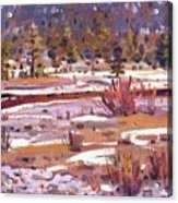 Sierra Creek Acrylic Print