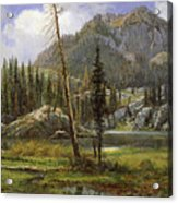 Sierra Nevada Mountains Acrylic Print