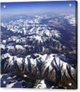 Sierra Nevada Range Acrylic Print