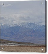 Sierra Nevada View Acrylic Print