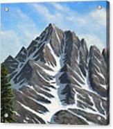 Sierra Peaks Acrylic Print