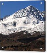 Sierra Winterscape Acrylic Print