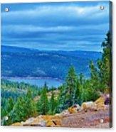 Sierras Before Snow Storm Acrylic Print