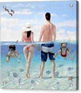 Siesta Beach Resort And Spa Mural Acrylic Print