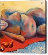 Siesta Desnuda Acrylic Print