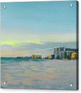 Siesta Key Beach At Dusk Acrylic Print