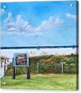 Siesta Key Public Beach Acrylic Print