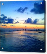 Siesta Key Sunset 1 Acrylic Print