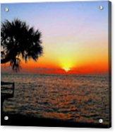 Siesta Key Sunset 2 Acrylic Print