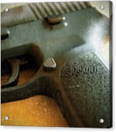Sig Sauer P-250 Acrylic Print