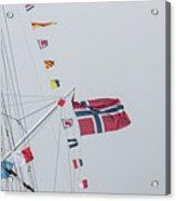 Signal Flags Acrylic Print