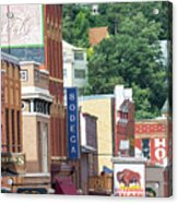Signs And Historic Buildings Acrylic Print