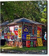 Signs Of Past Times Acrylic Print