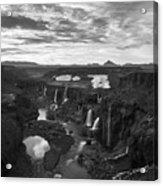 Sigoldufoss Waterfalls Iceland 1291 Acrylic Print