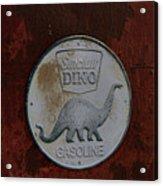 Siinclair Dino Gasoline Sign Acrylic Print