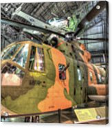 Sikorsky Hh-3 Jolly Green Giant Acrylic Print