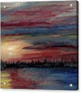 Silence Ahead Of The Storm Acrylic Print