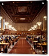 Silence In The Library Acrylic Print