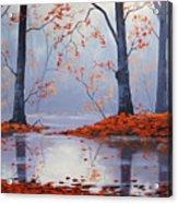 Silent Autumn Acrylic Print