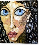 Silent Blue  Acrylic Print