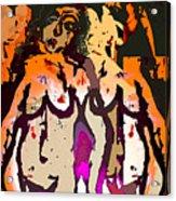 Silent Dance II Acrylic Print