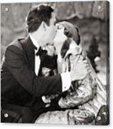 Silent Film Still: Kissing Acrylic Print