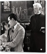 Silent Film Still: Wedding Acrylic Print